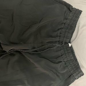Banana Republic Black Ankle Slacks